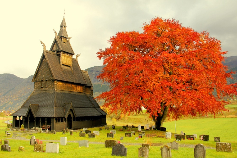 Norway_Hopperstad Stave Church Norway