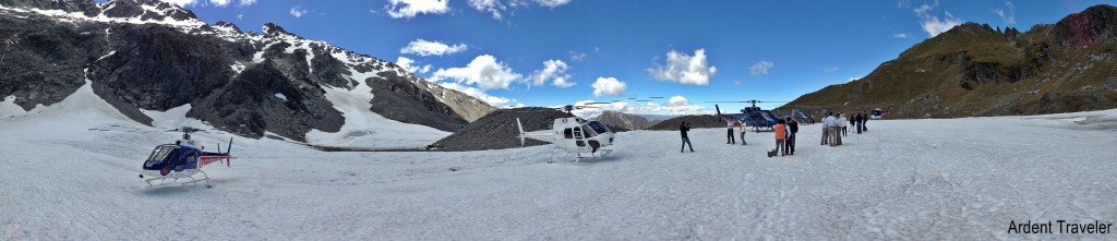 helicopter line glacier queenstown